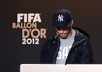 Fussball International  FIFA Ballon d Or / Weltfussballer 2012   PK   07.01.2013 Cristiano Ronaldo (Portugal)