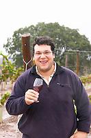 Tiago Garcia winemaker. Herdade das Servas, Estremoz, Alentejo, Portugal