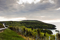 Coastline of Charlevoix, Quebec, Canada