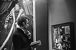 Patrick Procktor, Tate gallery The Elizabethan exhibition December 1st   London 1969.