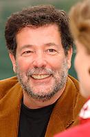October, 2001, Montreal, Quebec, Canada; <br /> File photo of journalist  Bernard Arcand