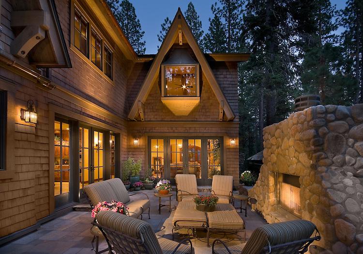 Incline Village, Nevada Lake Tahoe Residence for the Schwartz Stanton Group