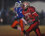 Lafayette High's Brandon Mack (4) makes a 44 yard touchdown catch in the first quarter vs. North Pontotoc at William L. Buford Stadium in Oxford, Miss. on Thursday, October 27, 2011. Lafayette High won 49-7...