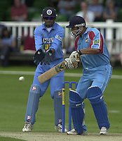 .24/06/2002.Sport - Cricket - .One day game 50 overs - Kent CC vs India.St Lawrence Ground - Canterbury.Andrew Symonds