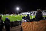 Boreham Wood 1 Northwich Victoria 2, 16/11/2015. Meadow Park, FA Cup 1st Round Replay. Northwich Victoria will be the lowest-ranked side in the FA Cup second round after a shock replay win over National League side Boreham Wood. The match was won by the away side by 2 goals to 1. Northwich were rewarded with a trip to League Two side Northampton in the second round. Photo by Simon Gill