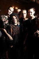 FEB 22 ANGELO MARANI backstage at Milan Fashion Week