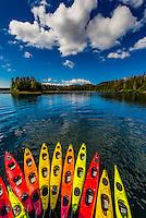 USA-Alaska-Southeast-Un-Cruise trip-Sea Kayaking