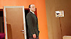 The Trial <br /> by Franz Kafka<br /> adapted by Nick Gill <br /> at The Young Vic Theatre, London, Great Britain <br /> 25th June 2015 <br /> press photocall <br /> <br /> Rory Kinnear as Josef K<br /> <br /> <br /> <br /> Photograph by Elliott Franks <br /> Image licensed to Elliott Franks Photography Services