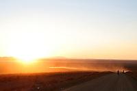 The approach to Uyuni, Bolivia - South America