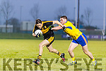 Brian Looney Dr Crokes in action against Craih Guiry The Nire at Mallow on Sunday