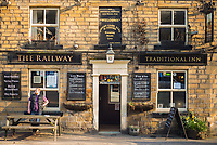 Photo: Wilkinson Photography.<br /> <br /> The Railway Public House, Greenfield, England.