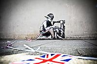 15.05.2012 - Banksy's Graffiti in Turnpike Lane