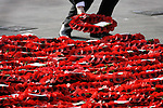 JAMES BOARDMAN / 07967642437 - 01444 412089 .Wreaths are laid at the Cenotaph  during the Remembrance Sunday service at Whitehall in London 12 November 2006. .. .
