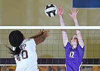 Varsity Volleyball vs. Brebeuf  9-23-14