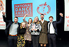 The Critics' Circle National Dance Awards 2015 <br /> at The Place, London, Great Britain <br /> 25th January 2016 <br /> <br /> <br /> <br /> <br /> BEST INDEPENDENT COMPANY <br /> <br /> Rosie Kay Dance Company <br /> <br /> <br /> <br /> <br /> Photograph by Elliott Franks <br /> Image licensed to Elliott Franks Photography Services