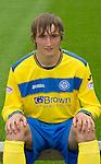 St Johnstone FC...Season 2011-12.Chris Kane.Picture by Graeme Hart..Copyright Perthshire Picture Agency.Tel: 01738 623350  Mobile: 07990 594431