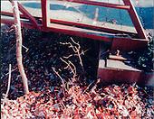 "Washington, DC - February 20, 2001 -- ""Ellis"" drop site - Under a footbridge over Wolftrap Creek near Creek Crossing Road at Foxstone Park near Vienna, Virginia..Credit: FBI via CNP"