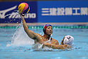 Hirofumi Funazaki (Bourbon), SEPTEMBER 30, 2011 - Water Polo : Water Polo Japan Challenge 2011 Men's Competition Keiogijuku - Bourbon Water Polo Club Kashiwazaki at Tatsumi International Swimming Pool, Tokyo, Japan. (Photo by YUTAKA/AFLO SPORT) [1040]