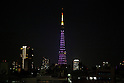 Tokyo Tower Sakura Illumination