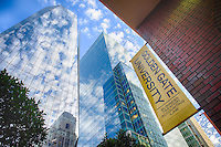 Golden Gate University GGU School of Law Prospectus Marketing San Francisco Downtown Cityscapes