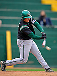 2 May 2008: Binghamton University Bearcats' first baseman Tom Baileys, a Junior from Apalachin, NY, in action against the University of Vermont Catamounts at Historic Centennial Field in Burlington, Vermont. The Catamounts defeated the Bearcats 6-2 in the first game of their weekend series...Mandatory Photo Credit: Ed Wolfstein Photo