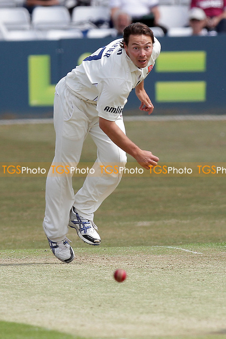 Graham Napier in bowling action for Essex - Essex CCC vs Middlesex CCC - LV County Championship Division Two cricket at the Ford County Ground, Chelmsford - 24/05/11 - MANDATORY CREDIT: Gavin Ellis/TGSPHOTO - Self billing applies where appropriate - Tel: 0845 094 6026