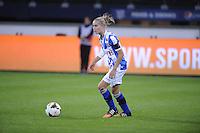 VOETBAL: HEERENVEEN: Abe Lenstra Stadion 02-10-2015, Eredivisie Vrouwen, sc Heerenveen - PSV, uitslag 1-1, Lysanne van der Wal, ©foto Martin de Jong