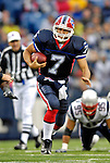22 October 2006: Buffalo Bills quarterback J.P. Losman (7) in action against the New England Patriots at Ralph Wilson Stadium in Orchard Park, NY. The Patriots defeated the Bills 28-6. Mandatory Photo Credit: Ed Wolfstein Photo.<br />