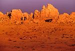 Rock formations, Gobi Desert, Govi-Altai Province, Mongolia