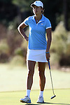 16 October 2016: UNC's Leslie Cloots (BEL). The Final Round of the 2016 Ruth's Chris Tar Heel Invitational NCAA Women's Golf Tournament hosted by the University of North Carolina Tar Heels was held at the UNC Finley Golf Club in Chapel Hill, North Carolina.
