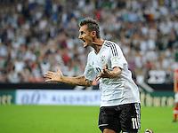 Fussball International  WM Qualifikation 2014   06.09.2013 Deutschland -  Oesterreich  JUBEL Deutschland; Miroslav Klose nach seinem Tor zum 1-0
