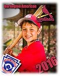 2016 Burlington American Cardinals