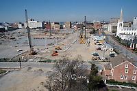 1997 APRIL 03..Redevelopment..Macarthur Center.Downtown North (R-8)..LOOKING WEST...NEG#.NRHA#..