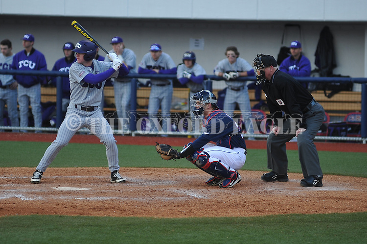 Ole Miss vs. TCU at Oxford-University Stadium on Saturday, February 16, 2013. Ole Miss won 5-2.