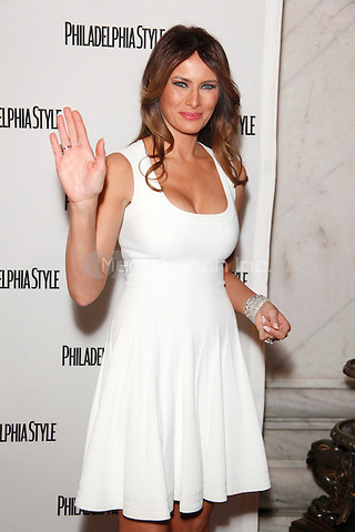 Melania Trump pictured at Philadelphia Style Magazine's Holiday Issue Release Party at Ritz Carlton Hotel in Philadelphia, Pa on December 13, 2011  © Star Shooter / MediaPunchInc