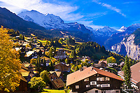 Switzerland-Bernese Oberland-Wengen
