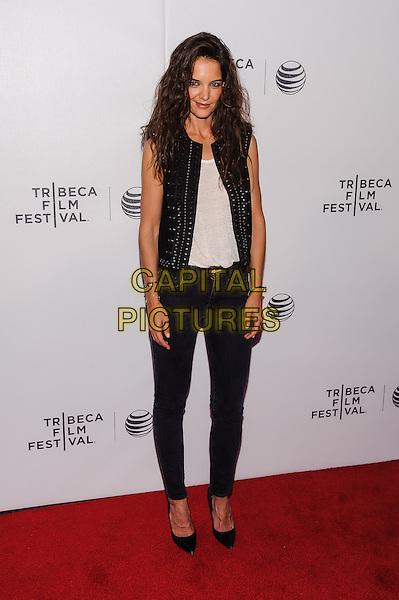 17 April 2015 - New York, New York- Katie Holmes. Tribeca Film Festival premiere of &quot;Eternal Princess&quot; <br /> CAP/ADM/MSA<br /> &copy;MSA/ADM/Capital Pictures