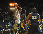 "Ole Miss forward Steadman Short (15)  at the C.M. ""Tad"" Smith Coliseum in Oxford, Miss. on Wednesday, November 17, 2010."