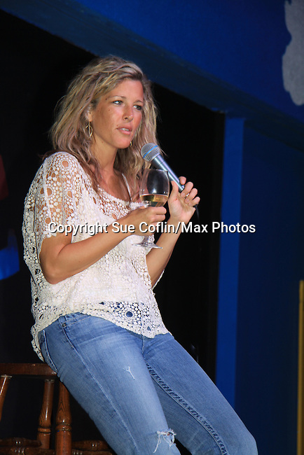 "General Hospital Laura Wright ""Carly"" at a Wine Tasting for Standing"