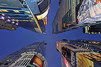Times Square, 42 Street, Night, Manhattan, New York City, New York, USA
