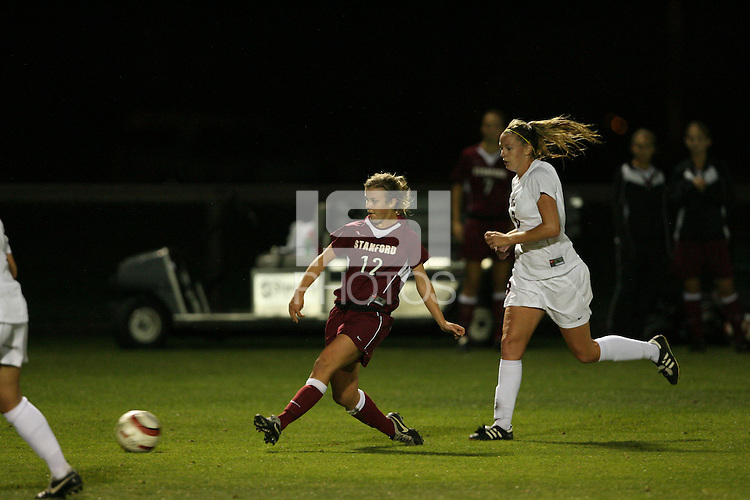 28 October 2005: Kelley Birch during Stanford's 1-0 loss to USC at Maloney Field in Stanford, CA.