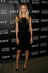 Czech model Linda Vojtova Attends Stuart Weitzman & Gilt Launch Exclusive Digital Pop-up Shop to Celebrate the 20th Anniversary of the 5050 Boot at NeueHouse, NY