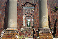 The ruins located at the Barboursville Winery with owner Luca Puschina in Orange County, Virginia.  James Barbour, as the most valuable residence in a county including James Madison's Montpelier and Philip Barbour's Frascati, this second-generation estate house at Barboursville plantation was designed by Thomas Jefferson, one of only 3 residences he designed for his friends. The Barbour family continued to occupy this residence until it was destroyed by accidental fire at Christmas, 1884, and returned to the elegant Georgian villa next door for several generations, now The 1804 Inn.