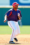 15 March 2006: Daryle Ward, infielder for the Washington Nationals, runs the bases during a Spring Training game against the New York Mets. The Mets defeated the Nationals 8-5 at Space Coast Stadium, in Viera, Florida...Mandatory Photo Credit: Ed Wolfstein..