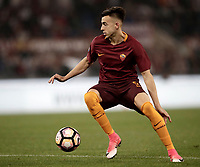 Calcio, Serie A: Roma, stadio Olimpico, 14 maggio 2017.<br /> AS Roma's Stephan El Shaarawy in action during the Italian Serie A football match between AS Roma and Juventus at Rome's Olympic stadium, May 14, 2017.<br /> UPDATE IMAGES PRESS/Isabella Bonotto