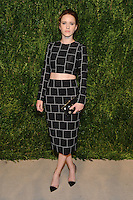 NEW YORK, NY - NOVEMBER 07: Rachel Brosnahan attends 13th Annual CFDA/Vogue Fashion Fund Awards at Spring Studios on November 7, 2016 in New York City. Photo by John Palmer/ MediaPunch