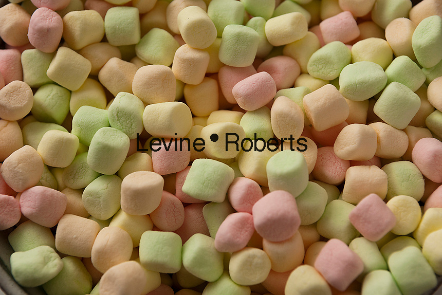 A collection of colored marshmallows on Friday, September 21, 2012. (© Richard B. Levine)