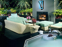 Sinatra, Residential, exterior, Spa, Night, Fireplace, Seating, lifestyle; decor .jpg