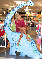 """Heidi Klum at the launch of her new line of children's clothing, """"Truly Scrumptious""""- Los Angeles"""