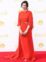 LOS ANGELES, CA, USA - AUGUST 25: Actress Sibel Kekilli arrives at the 66th Annual Primetime Emmy Awards held at Nokia Theatre L.A. Live on August 25, 2014 in Los Angeles, California, United States. (Photo by Celebrity Monitor)